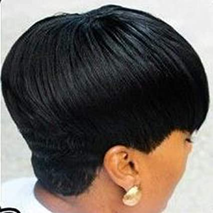 Mit pony schwarze kurze haare 10 Frisurideen