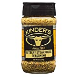 Kinder's Buttery Steakhouse Seasoning, 5.5 oz.; Taste of Melted Butter Over Steak; Generously Rub...