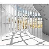 murando Fototapete 3d Effekt 400x280 cm Vlies Tapeten Wandtapete XXL Moderne Wanddeko Design Wand Dekoration Wohnzimmer Schlafzimmer Büro Flur Architektur Landschaft Meer c-C-0020-a-a