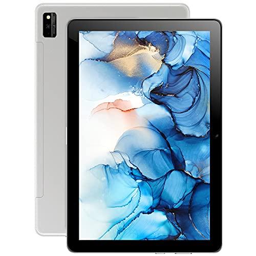 Tablet 10 Zoll Android 11, Blackview Tab10 4G LTE + 5G-WiFi Tablet-PC (13MP+8MP Kamera, 7480mAh Akku,1920x1200 FHD, IPS, 4GB RAM, 64GB ROM, Dual SIM, Face ID, GPS, Bluetooth,Typ-c)