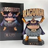 KIJIGHG Dragon Ball Z Buu Boo Fat Cute Bandeja de pie Cenicero Ver. Figura de acción de PVC 13Cm DBZ Majin Boo Goku Modelo de Personaje de Dibujos Animados de Anime