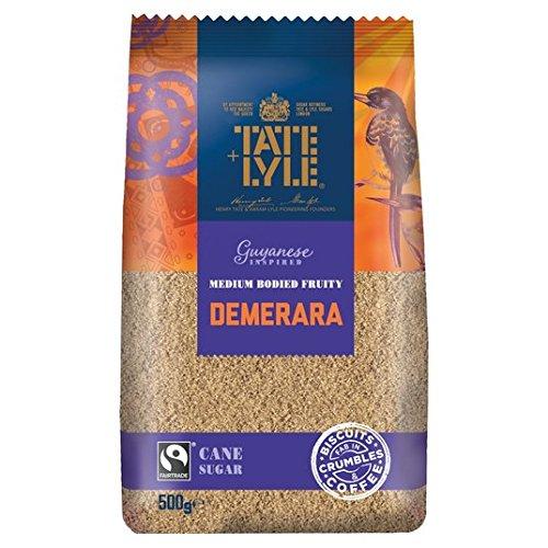 Tate & Lyle Fairtrade raffiniertes Demerara-Zucker 500 g