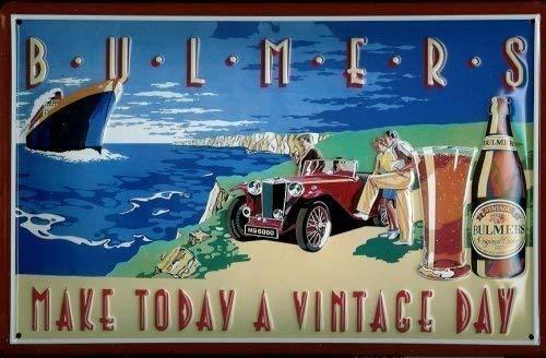 Nostalgische Welten Andreas Schmidt Bulmers Cider Vintage Day Blechschild 20 x 30 cm