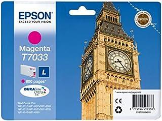 Epson T7033 Tintenpatrone Big Ben, Singlepack magenta