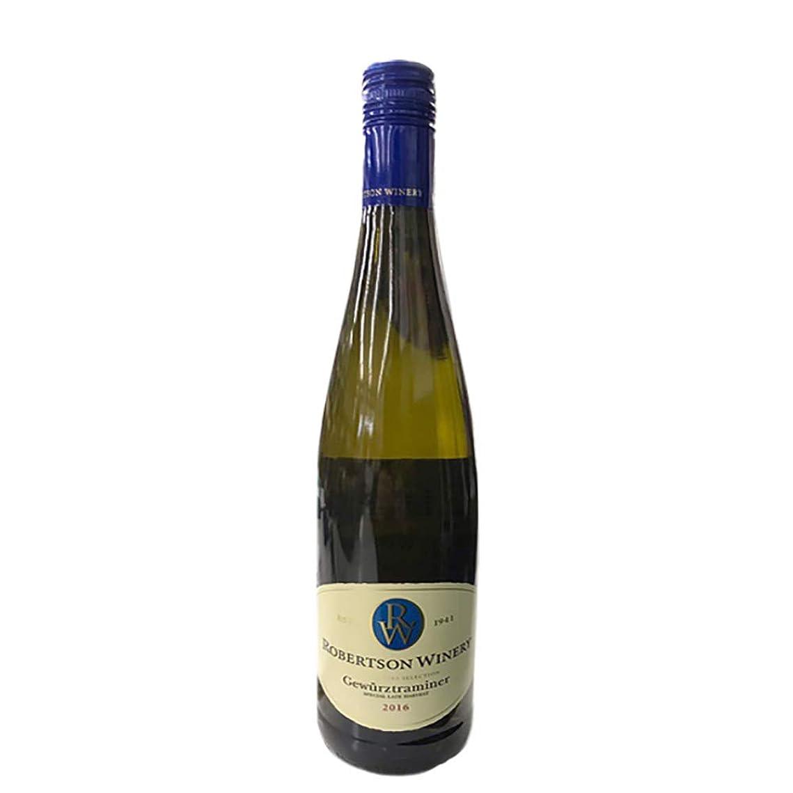 留め金ハングブレンドロバートソン ゲヴェルツトラミネール 750ml 白ワイン 甘口 南アフリカ