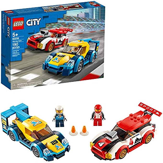 Lego City  60256 מכוניות מירוץ (new 2020)