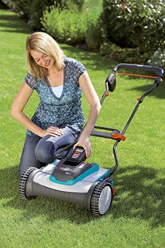 Gardena 4025-U 15-Inch 25-Volt 3.2 amp Lithium-Ion Cordless Push Reel Lawn Mower