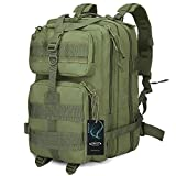 G4Free Tactical Shoulder Backpack Military Survival Pack Army Molle Bug Out Bag Surplus Backpack 35L
