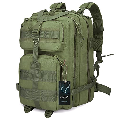 G4Free Tactical Shoulder Backpack Military Survival Pack Army Molle...