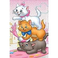 5DDIY刺繡漫画おかしい猫ダイヤモンド絵画クロスステッチ写真ラインストーンダイヤモンドモザイク家の装飾ギフト