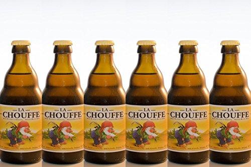 5. Brasserie Achoueff – Cerveza belga (pack de 6 botellas) de 330 ml con 8%
