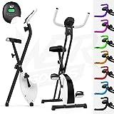 Pliant Magnétique Exercice Vélo X-Bike Aptitude Cardio Faire du Sport Poids Perte Machine (Blanc)