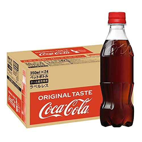コカ・コーラ ラベルレス 350mlPET×24本
