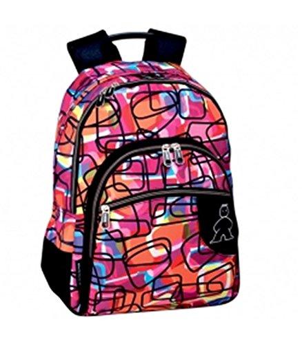 Perona 53386 Campro Mochila Escolar, 43 cm, Multicolor