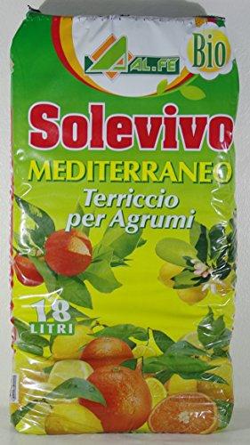 Sustrato Mediterraneo para cítricos Solevivo, paquete de 18 L