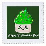 3dRose qs_76575_1 Happy Saint Patricks Day-St Paddys Cute