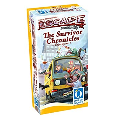 Asmodee Escape: Zombie City - The Survivors Chronicles Expansion 1