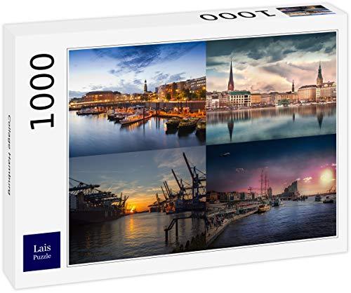 Lais Puzzle Collage Hamburg 1000 Teile