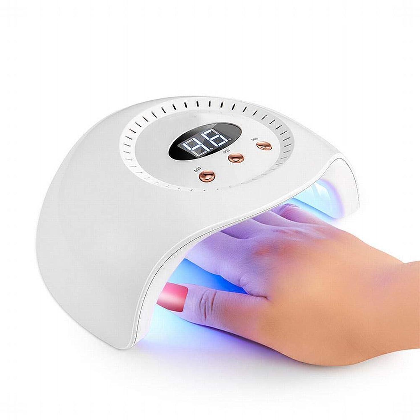 老朽化した担当者慎重YESONEEP ネイルランプ24ワットネイル光線療法ランプインテリジェント誘導ネイル機デュアル光源led光線療法ランプネイルスマート乾燥 (Size : 24W)