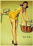 JXFFF Bricolaje (20x25 cm Sin Marco) Mujer Sexy Belleza piloto Color por números Amantes románticos para Adultos Niños Set de Regalo, con Pincel y Pintura acrílica