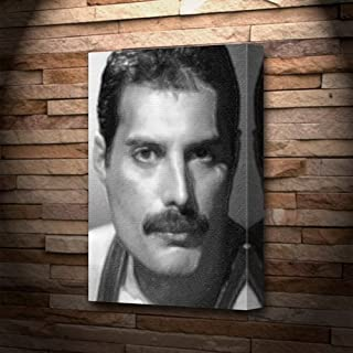 FREDDIE MERCURY - Canvas Print (LARGE A3 - Signed by the Artist) #js004