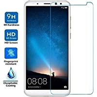 ELECTRÓNICA REY Protector de Pantalla para Huawei Mate 10 Lite/Honor 9i / G10 / MAIMANG 6, Cristal Vidrio Templado Premium