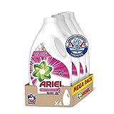 Ariel Detergente Líquido para Lavadora, Fragancia Sensaciones, 160 Lavados (4 x 40)