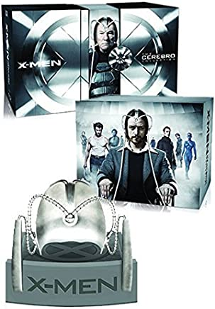 X-Men Cerebro Collection (7 Films) - 8-Disc Box Set and Replica Helmet ( X-Men / X-Men 2 (X2) / X-Men: The Last Stand / X-Men Origins: Wolverine / X-Men: First Class / The Wolverine / X-Men: (Blu-Ray)