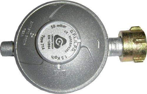 Druckregler / Regler 50 mbar 1,5 kg Gasregler