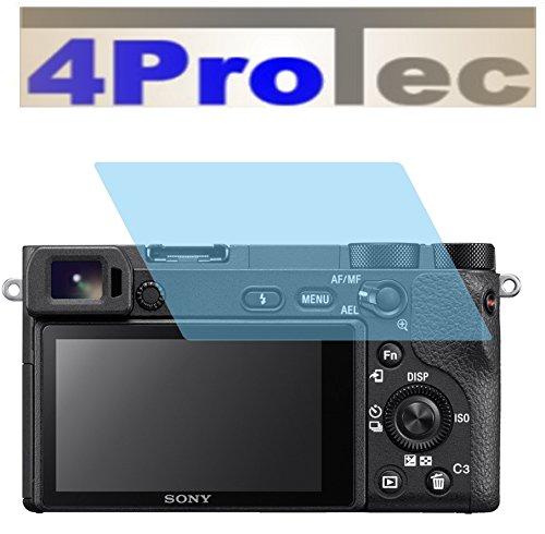 4ProTec I 2X EXTREM Harte CC Displayschutzfolie EXTREM Harte für Sony Alpha 6500 Bruchschutzfolie Bildschirmschutzfolie
