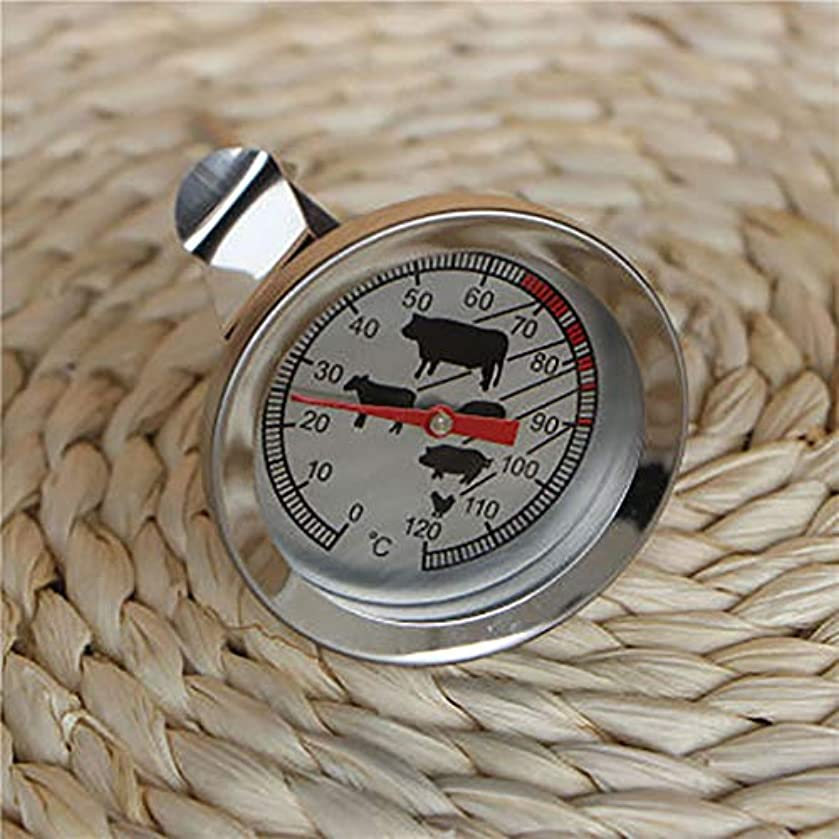 ? Yu2d ???? ?Food Meat Temperature Stand Up Dial Oven Thermometer Stainless Steel Gauge