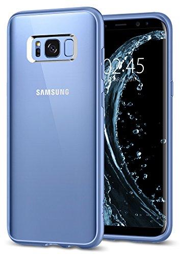 Spigen Cover Ultra Hybrid Compatibile con Samsung Galaxy S8 Plus - Coral Blue