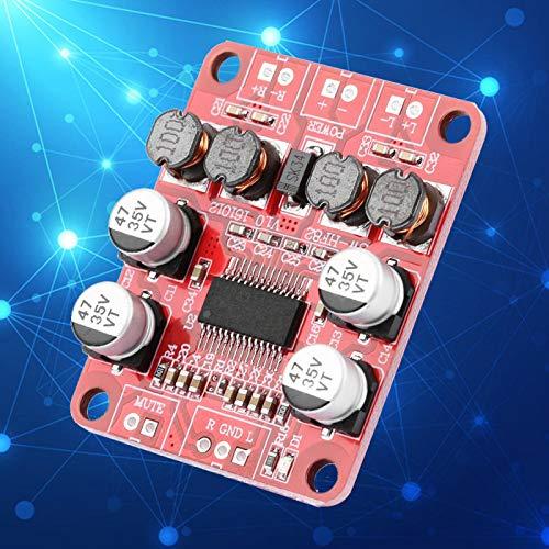 Placa amplificadora de potencia TPA3110 Placa amplificadora de audio estéreo de doble canal Placa amplificadora de potencia de audio digital 2x15W Alta eficiencia para altavoz de 4-10 ohmios