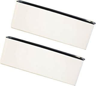 Baosity 15 inch Rectangular Self Watering Houseplant & Herb Windowsill Planter Trough, Pack of 2