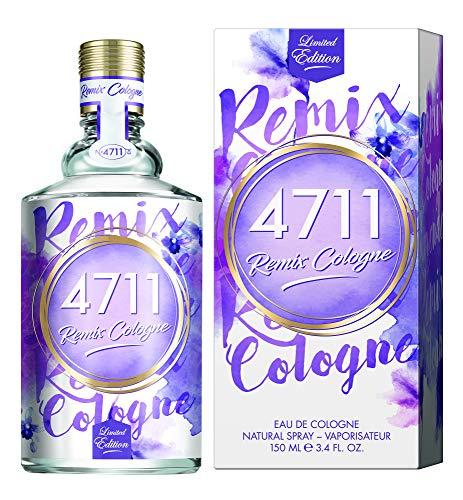 4711® Remix Cologne Lavendel I Limited Edition - Eau de Cologne - frisch - floral - unbeschwert - die blühende Frische des Lavendels sommerlich neu ge-remixt! I 150ml Natural Spray Vaporisateur