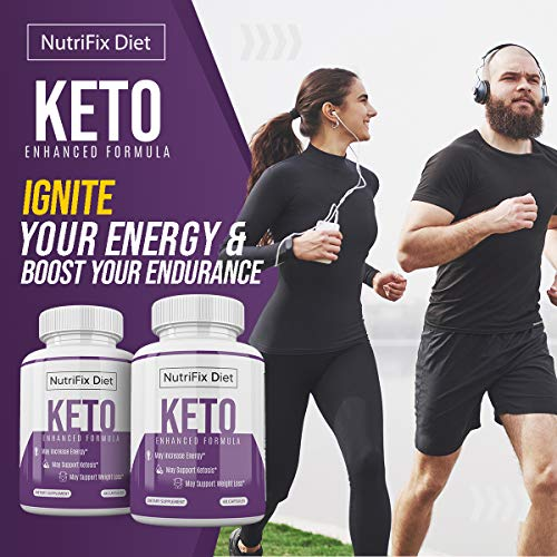 Nutrifix Diet - Keto Enhanced Formula - May Increase Energy - Support Ketosis and Weight Loss - 30 Day Supply 5