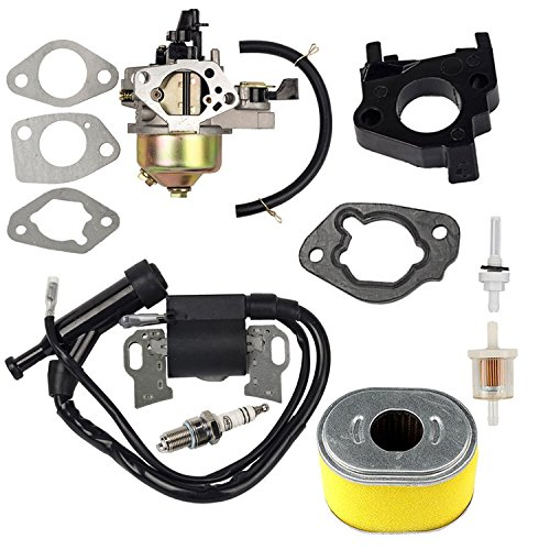 OxoxO Vergaser-Zündspule Kraftstofffilter Jonit Filter Zündkerze für Honda GX240 GX270 8HP 9HP Motor Rasenmäher