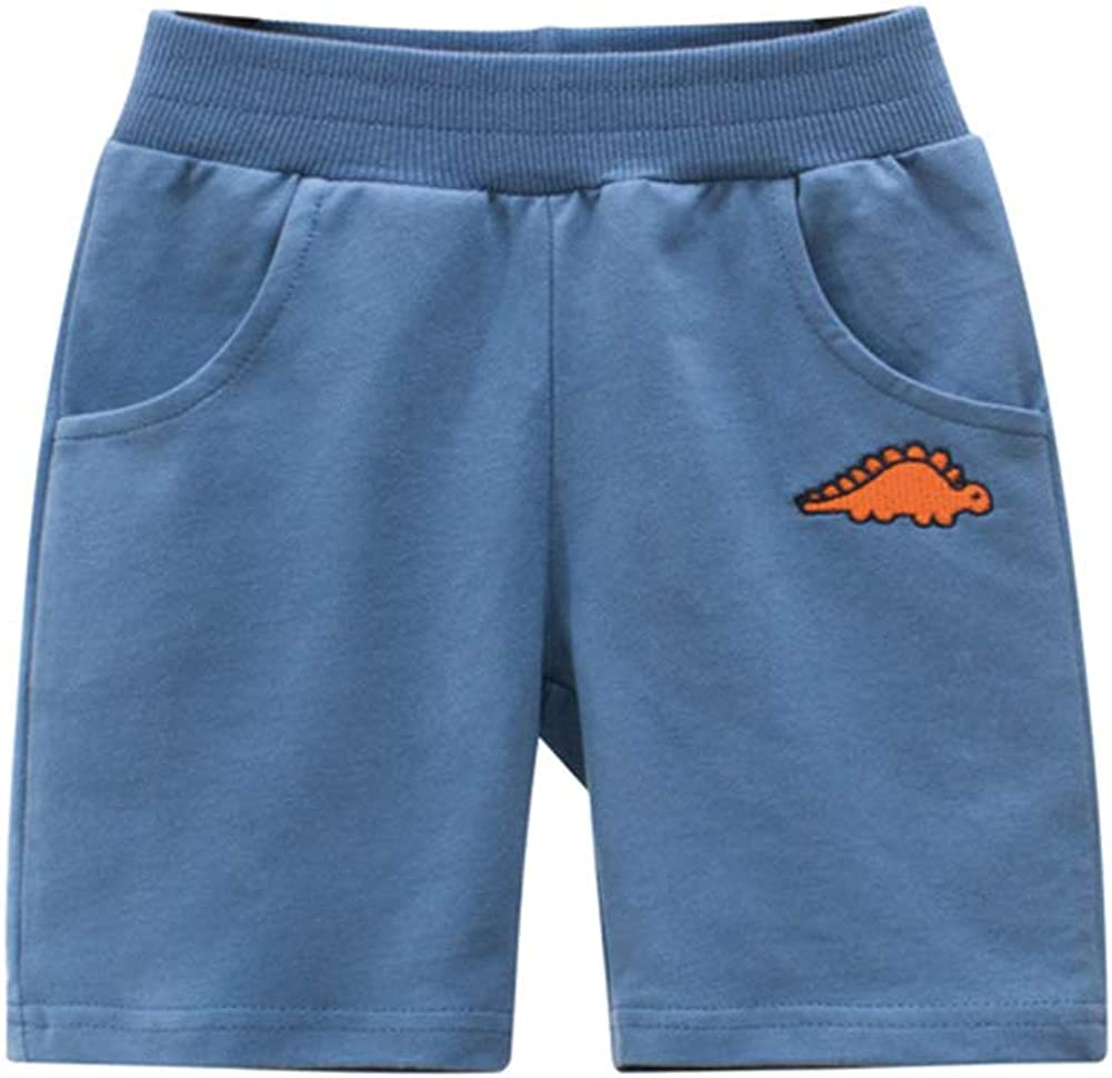 HAXICO Baby Boys Summer Knit Shorts Summer Knee Length Cotton Sport Shorts Kids Active Harem Pants