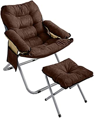 Amazon.com: Plegable sillas tumbona reclinable plegable ...