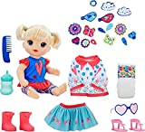 Baby Alive So Many Styles Baby Dolls, Blonde Straight Hair, Toy for Kids Ages 3 Years Old and Up