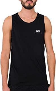 ALPHA INDUSTRIES Small Logo Tank T-Shirt Uomo