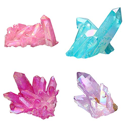 DyNamic Bergkristallen Cluster Mineraal Specimen Crystal Healing Natuurlijke Home Decorations - Blauw