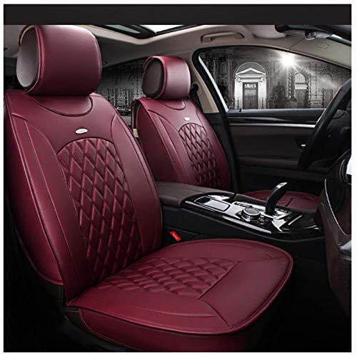 Asiento de coche, funda protectora Cubiertas de asientos for cuero de cuero, Cojines Auto Asiento Au