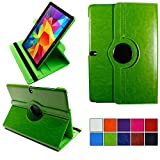 COOVY® 2.0 Cover für Samsung Galaxy Note PRO 12.2 SM-P900 SM-P901 SM-P905 Rotation 360° Smart Hülle Tasche Etui Hülle Schutz Ständer | grün