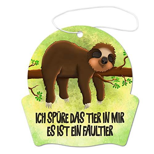 Unbekannt Faultier - Ich spüre das Tier in Mir Lufterfrischer - Duftbaum Auto Lufterfrischer
