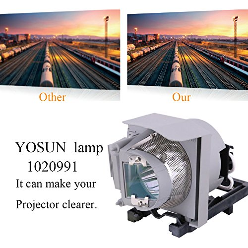 Lightraise 60Wi2 Smartboard Projector Lamp Replacement Projector Lamp Assembly with Genuine Original Osram P-VIP Bulb Inside.