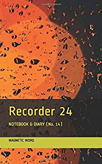 Recorder 24: NOTEBOOK & DIARY (No. 14) (RainDrops)