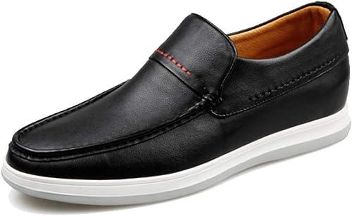 NIUMT Chaussures Chaussures Décontractées Confortables D'été D'été AugHommestées à L'intérieur des Chaussures en Cuir des Hommes Fashion  coloris étonnants