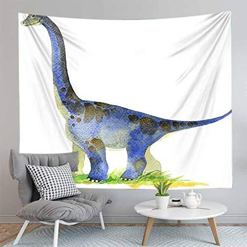 JXCDNB 150CMX130CM 3D gedruckte Cartoon Tier Dinosaurier Wandteppich Wandbehang...
