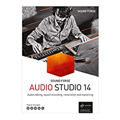 The all-in-one audio editor: Everything you need to record, edit, restore and master audio NEW! Instant Action window for faster workflow NEW! Windows context menu for easy task assignment New! quickFX with professional VST effects plug-ins NEW! Osci...